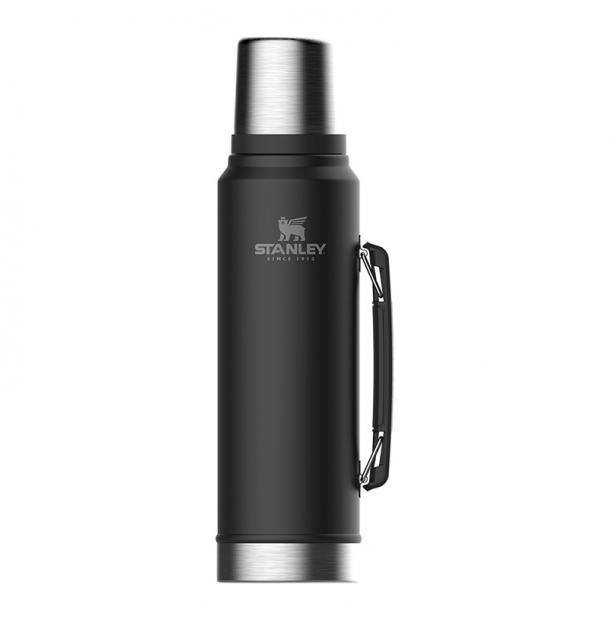 Термос Stanley Classic 1L Vacuum Bottle Black