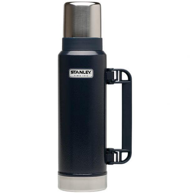 Термос Stanley Classic 1.3L Vacuum Bottle Hammertone Navy