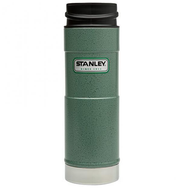 Термостакан Stanley Classic 0.47L One Hand Vacuum Mug Hammertone Green