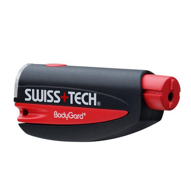 Автомобильный аварийный брелок-мультитул Swiss+Tech BodyGard PTX