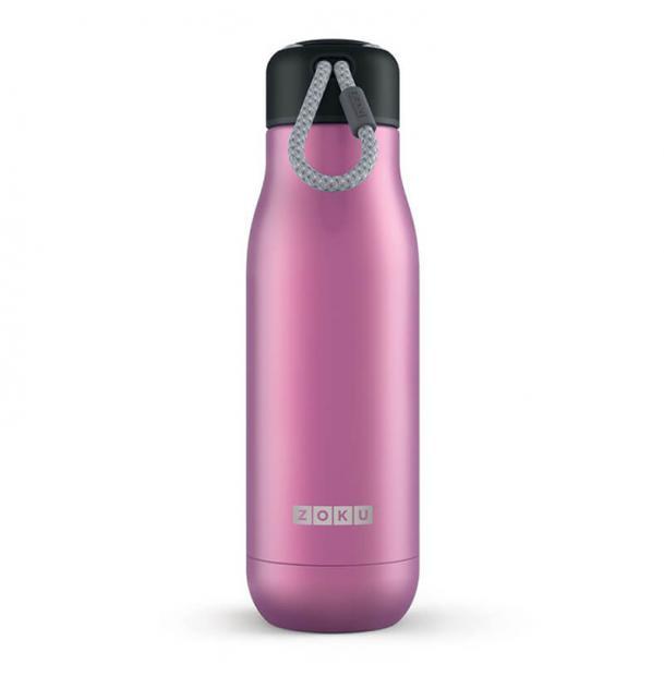 Термос Zoku 0.5L Stainless Steel Bottle Metallic Purple