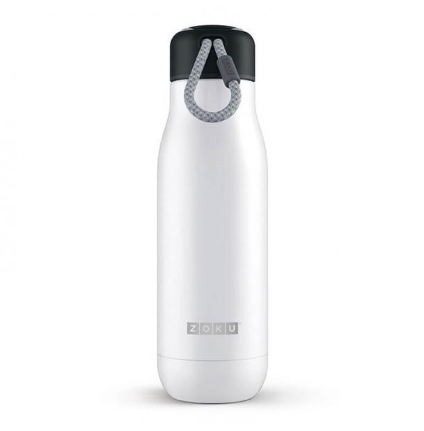 Термос Zoku 0.5L Stainless Steel Bottle White