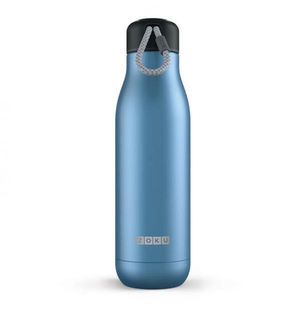 Термос Zoku 0.75L Stainless Steel Bottle Metallic Blue