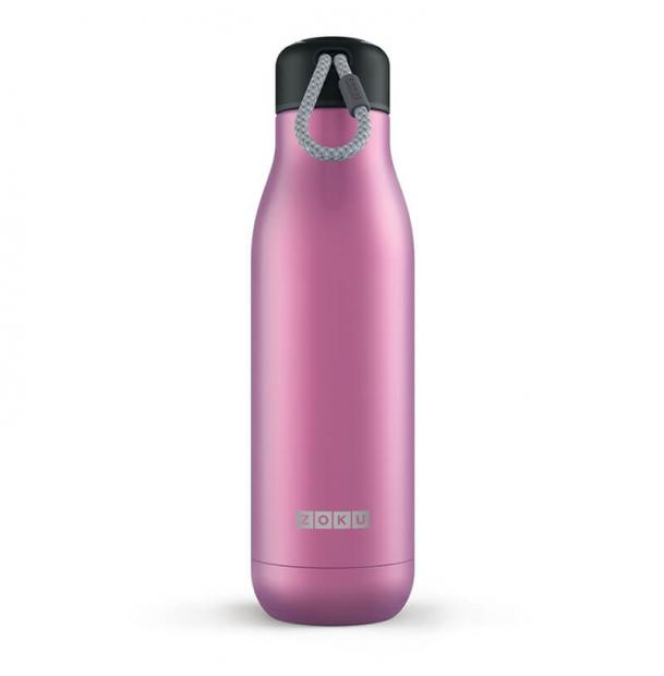 Термос Zoku 0.75L Stainless Steel Bottle Metallic Purple