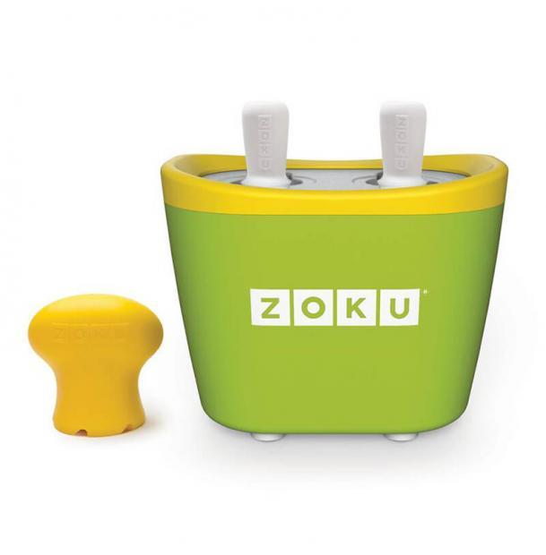 Набор для приготовления мороженого Zoku Duo Quick Pop Maker Green