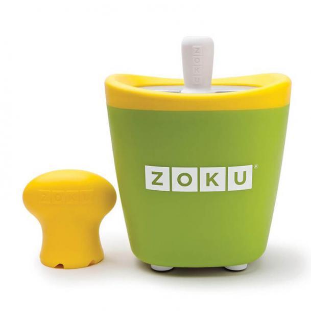 Набор для приготовления мороженого Zoku Single Quick Pop Maker Green