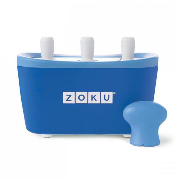 Набор для приготовления мороженого Zoku Triple Quick Pop Maker Blue