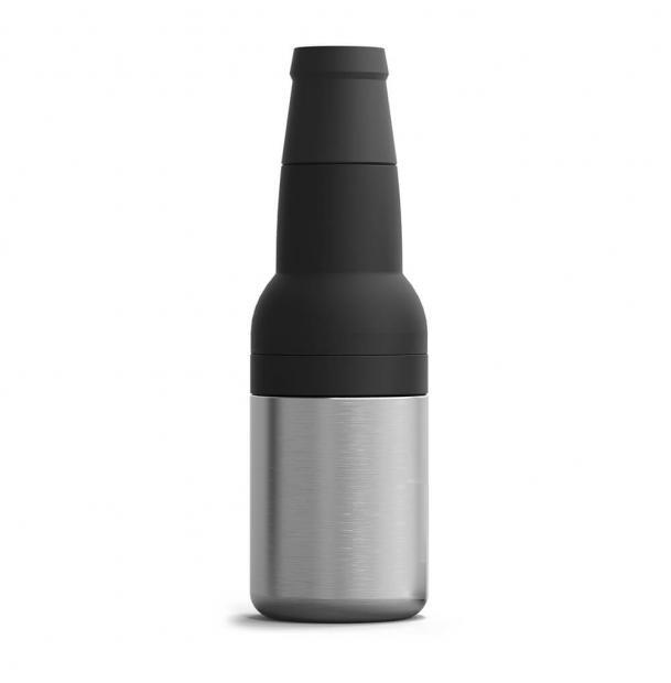 Термоконтейнер для банок и бутылок Asobu Frosty To 2 Go Chiller Silver