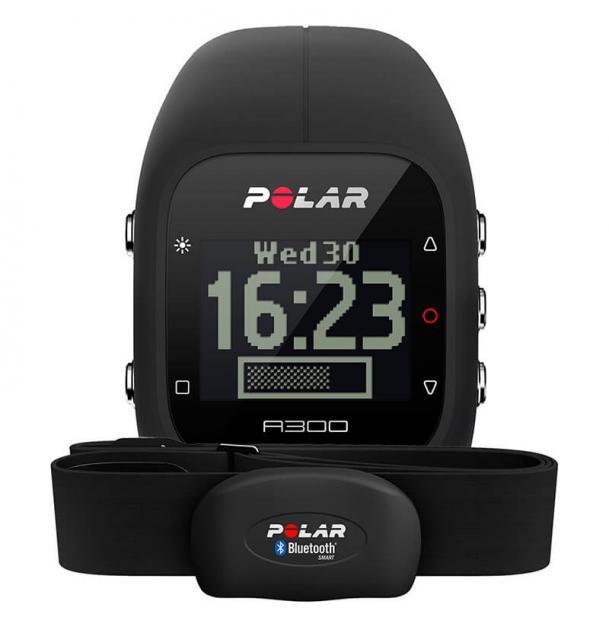 Часы Polar A300 Black HR с датчиком пульса