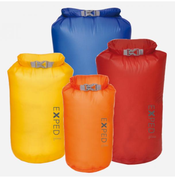 Набор из 4 гермомешков Exped Fold-Drybag UL XS-L