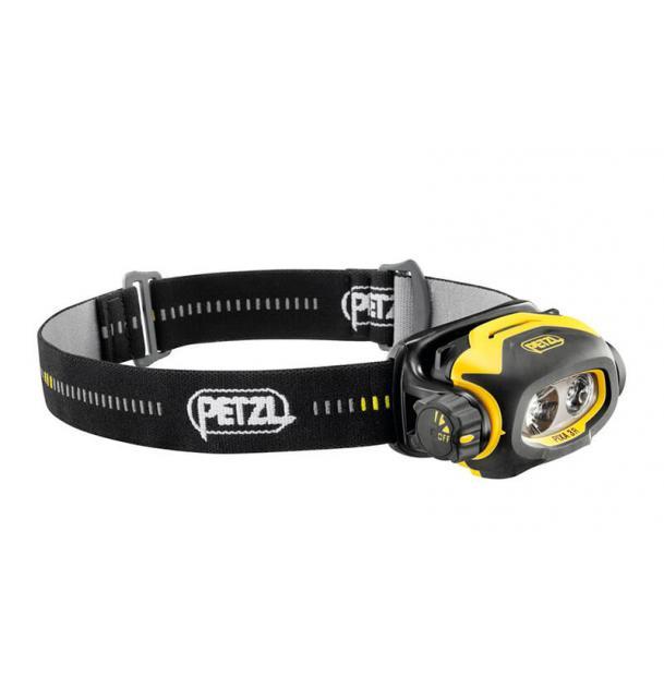 Petzl Pixa 3R - налобный фонарь с аккумулятором в комплекте.