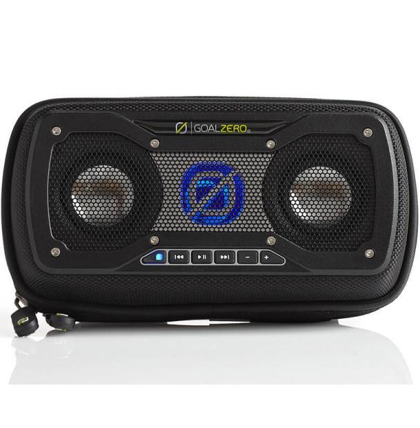 Портативная колонка Goal Zero Rock Out 2 Solar Rechargeable Speaker Black 94013