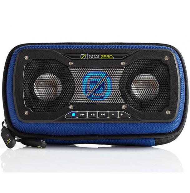 Портативная колонка Goal Zero Rock Out 2 Solar Rechargeable Speaker Blue