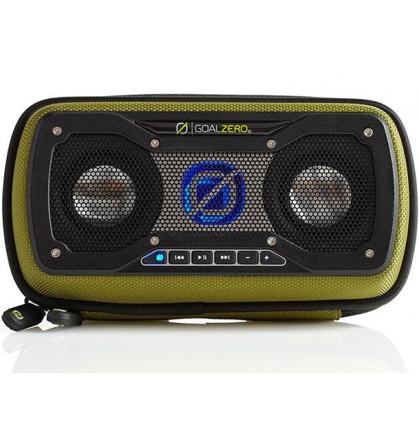 Портативная колонка Goal Zero Rock Out 2 Solar Rechargeable Speaker Green