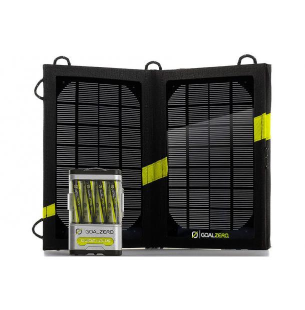 Комплект для зарядки Goal Zero Guide 10 Plus Solar Kit