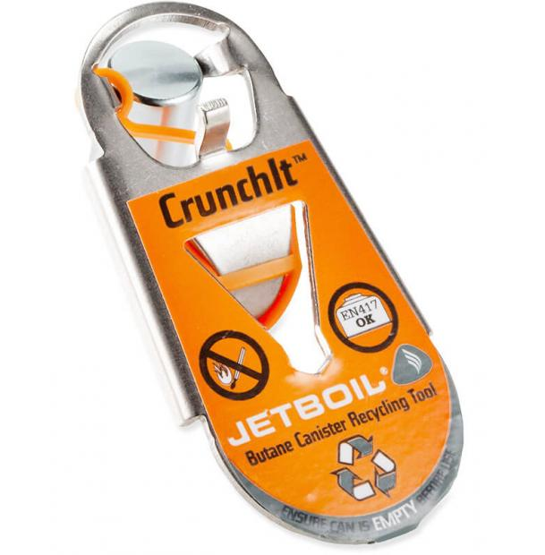 Инструмент Jetboil CRUNCHIT FUEL CANISTER RECYCLING TOOL