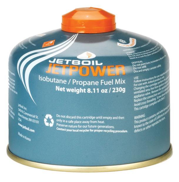 Топливный баллон Jetboil JETPOWER FUEL 230G
