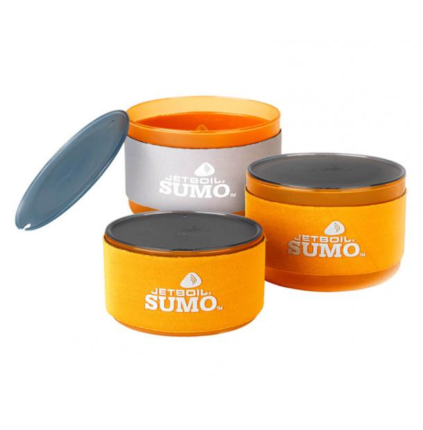 Набор пластиковой посуды Jetboil SUMO COMPANION BOWL SET