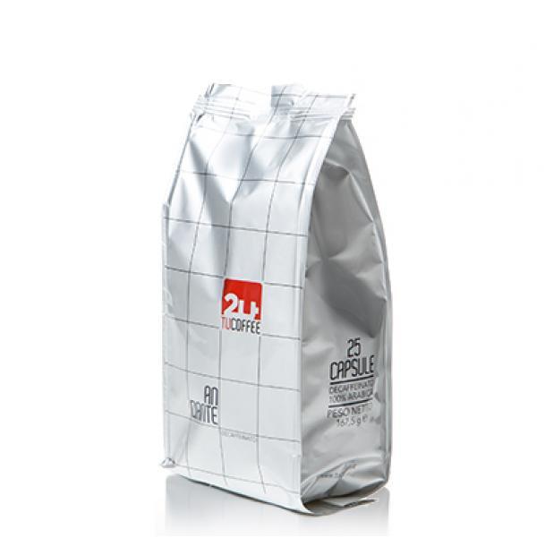 Кофе в капсулах TuCoffee Andante - Decaffeinato 25 шт