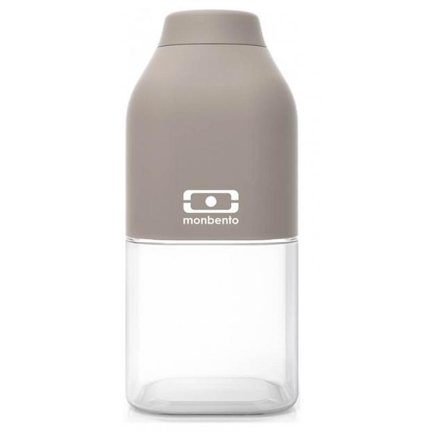 Пластиковая бутылка Monbento 0.33L MB Positive S Grey