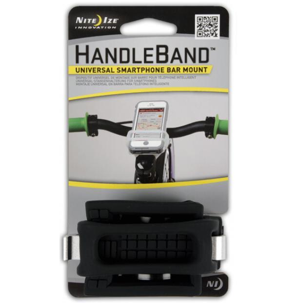 Велосипедный держатель для телефона Nite Ize HandleBand Black