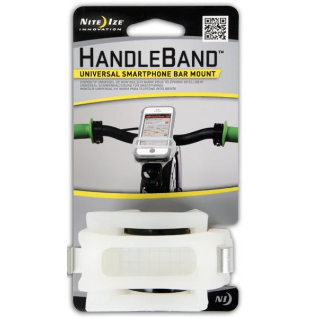 Велосипедный держатель для телефона Nite Ize HandleBand Clear