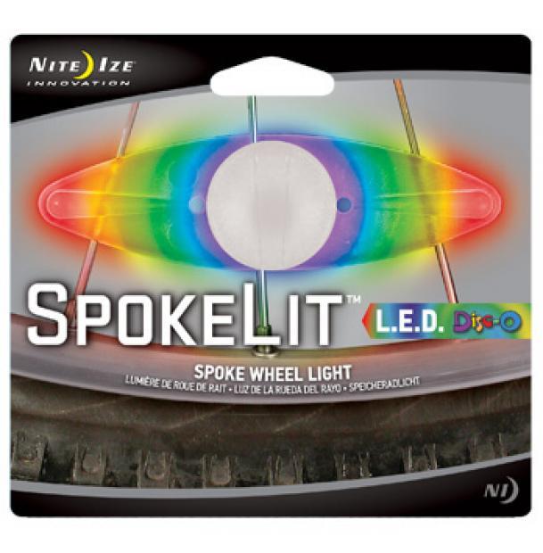 Светодиодный маркер фонарь на спицы Nite Ize SpokeLit Disc-O