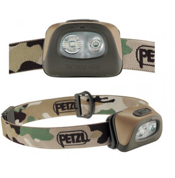 Налобный фонарь Petzl TACTIKKA +RGB Camo E89BHB C2