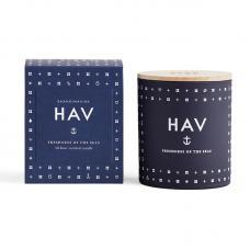 Свеча ароматическая Skandinavisk Hav с крышкой 190g