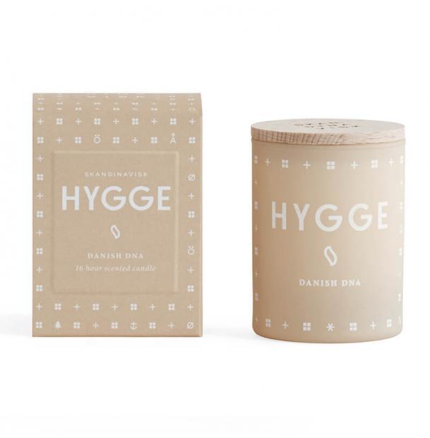 Свеча ароматическая Skandinavisk Hygge с крышкой 55g