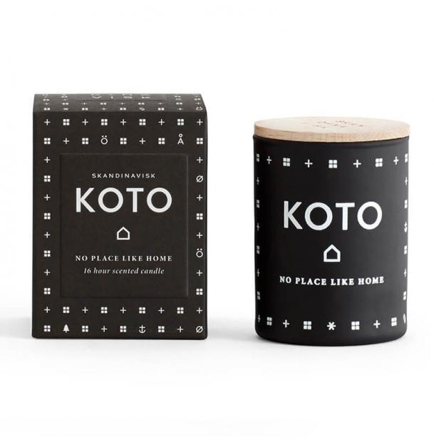 Свеча ароматическая Skandinavisk Koto с крышкой 55g