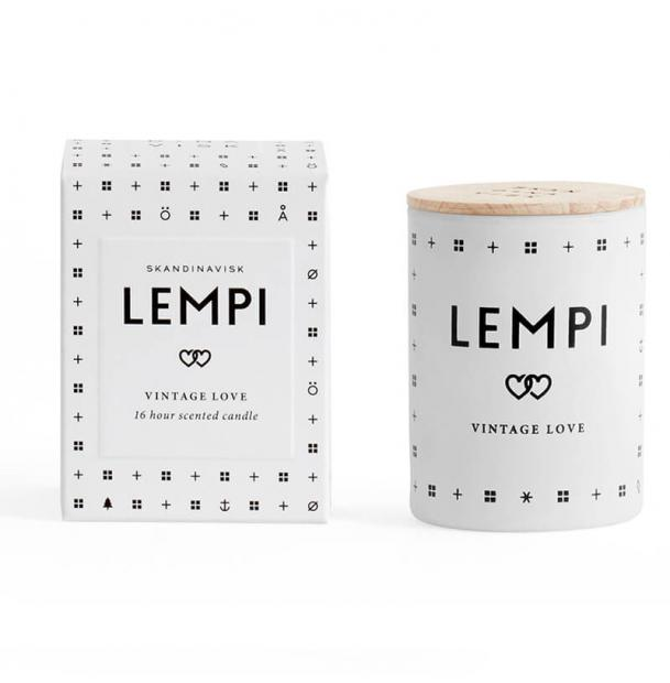 Свеча ароматическая Skandinavisk Lempi с крышкой 55g