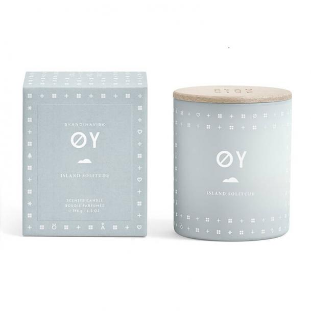 Свеча ароматическая Skandinavisk OY с крышкой 190g