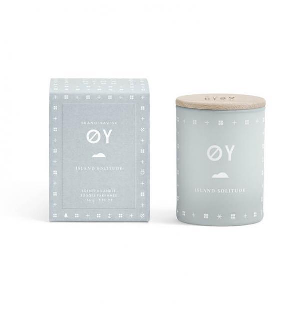 Свеча ароматическая Skandinavisk OY с крышкой 55g