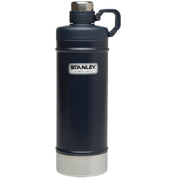 Термобутылка Stanley Classic 0.62L Vacuum Water Bottle Hammertone Navy