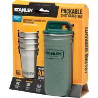 Набор стопок Stanley Adventure 0.59L SS Shot Glass Set Hammertone Green