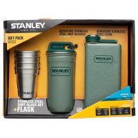 Набор Stanley Adventure Steel Shots + Flask Gift Set Hammertone Green