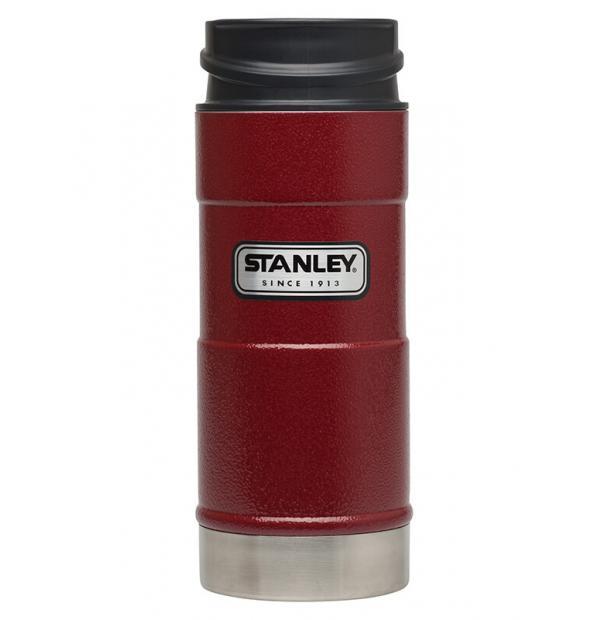 Термостакан Stanley Classic 0.35L One Hand Vacuum Mug Hammertone Crimson