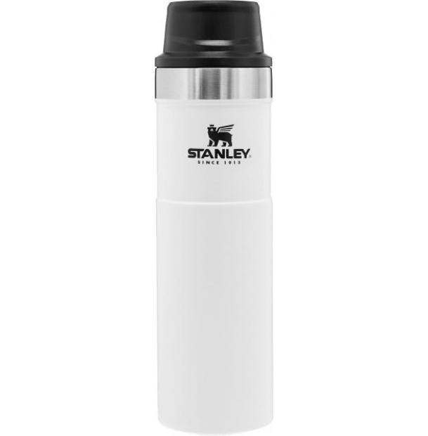Термостакан Stanley Classic 0.47L One Hand 2.0 Vacuum Mug White