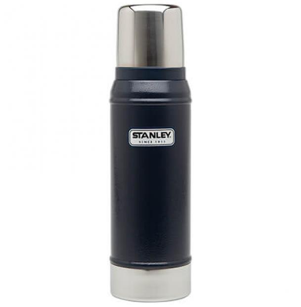 Термос Stanley Classic 0.75L Vacuum Bottle Hammertone Navy
