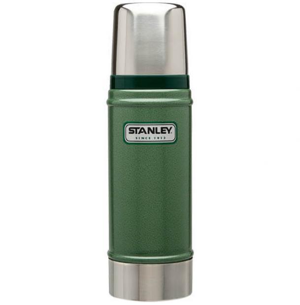 Термос Stanley Classic 0.47L Vacuum Bottle Hammertone Green