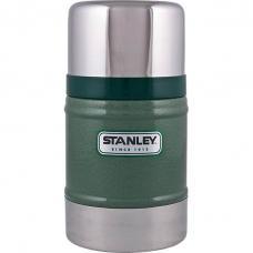 Термос для еды Stanley Classic 0.5L Vacuum Food Jar Hammertone Green