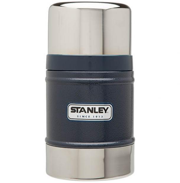 Термос для еды Stanley Classic 0.5L Vacuum Food Jar Hammertone Navy
