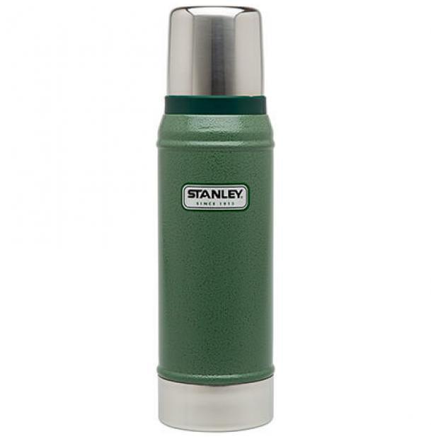 Термос Stanley Classic 0.75L Vacuum Bottle Hammertone Green