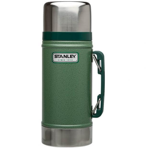 Термос для еды Stanley Classic 0.7L Vacuum Food Jar Hammertone Green