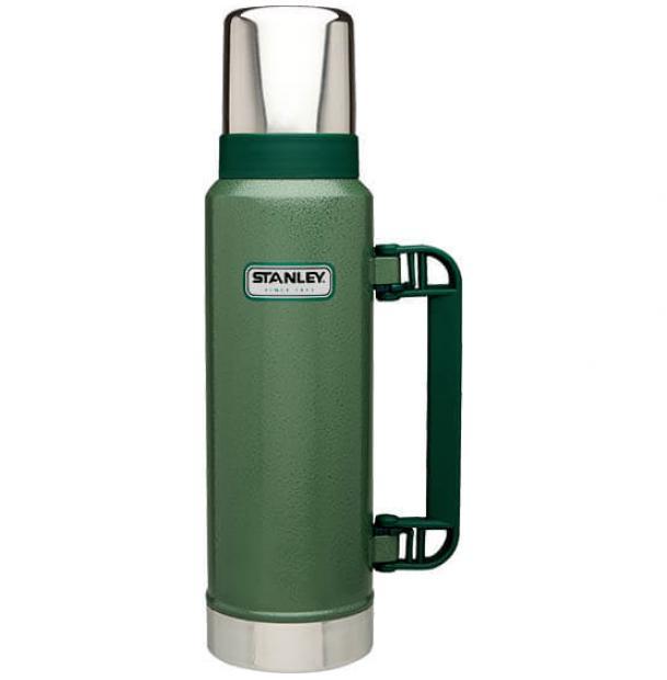Термос Stanley Classic 1.3L Vacuum Bottle Hammertone Green