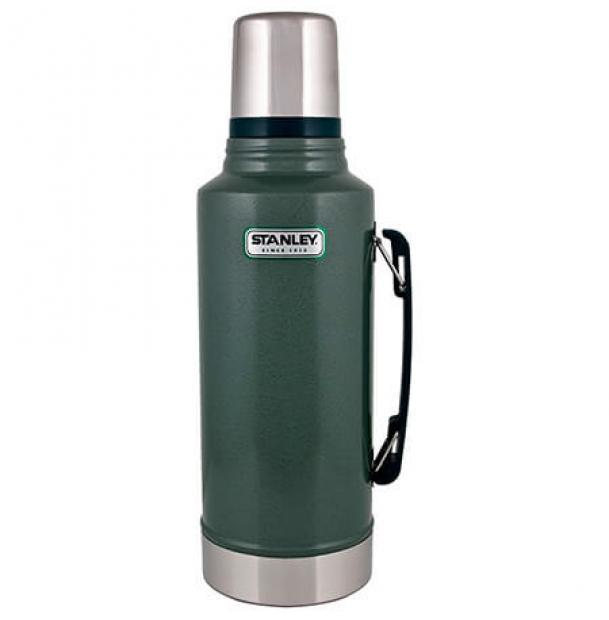 Термос Stanley Classic 1.9L Vacuum Bottle Hammertone Green