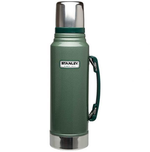 Термос Stanley Classic 1L Vacuum Bottle Hammertone Green