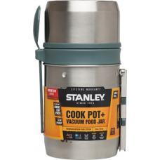 Термос для еды с котелком Stanley Mountain 0.6L Vacuum Food System