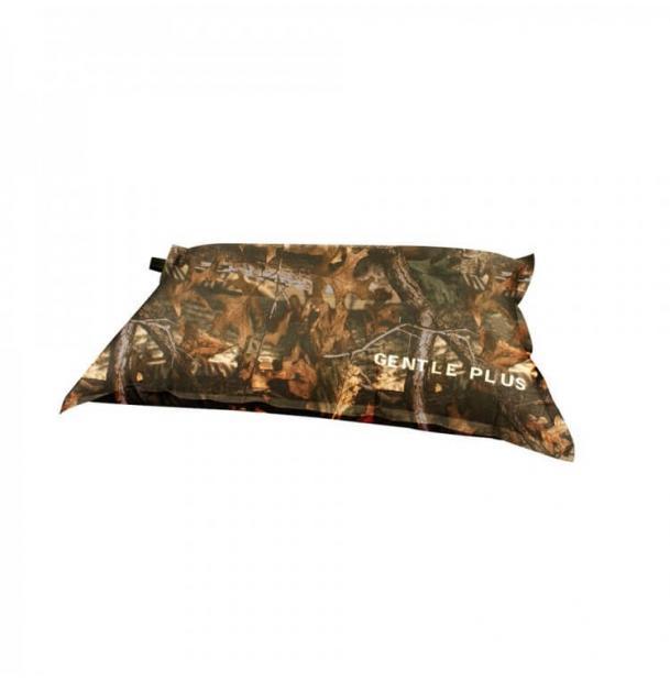 Подушка туристическая надувная Trimm Comfort Gentle Plus Red Camouflage / Dark Grey